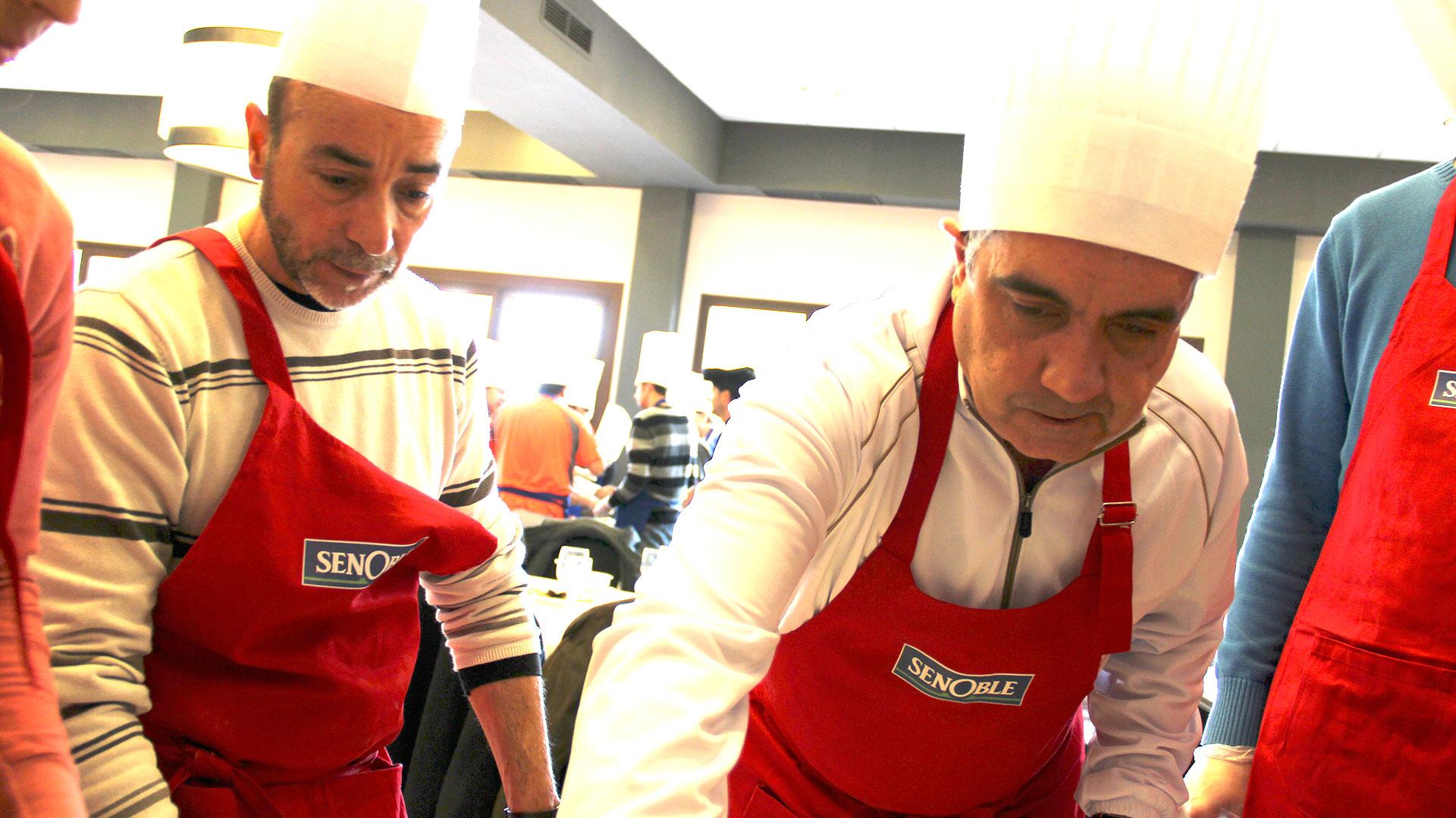 Team building cocina en Madrid