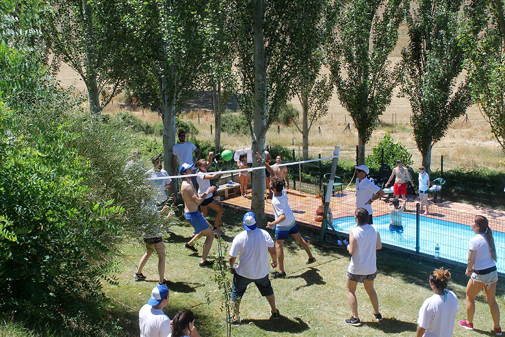 Team building deportivo en Madrid